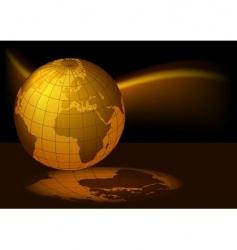 earth magmatic vector image