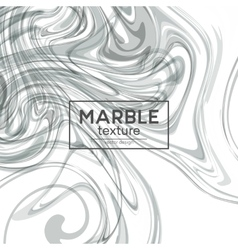 background with gray painted waves Marble vector image