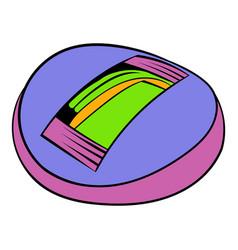 stadium icon in icon cartoon vector image