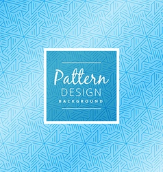 Abstract blue pattern background vector