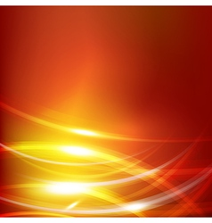 Abstract dark orange background with lighting vector