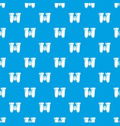 binoculars explorer pattern seamless blue vector image