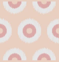 Boho polka dot nude seamless pattern vector
