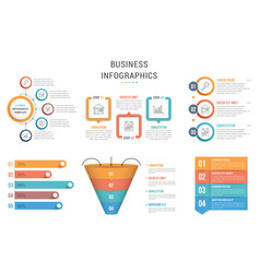 infographic templates vector image