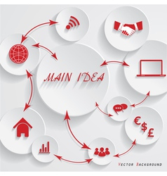 Modern design for your business presentation vector