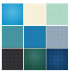 set seamless blueprint background vector image