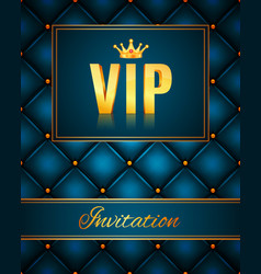 Vip abstract quilted background vector