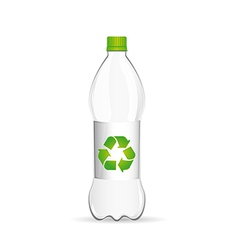 Water bottle vector