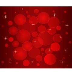 Christmas pattern in red color vector image vector image
