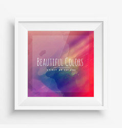 Abstract beautiful colors vector