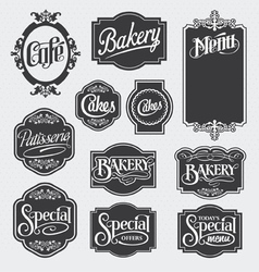 calligraphy signs vector image