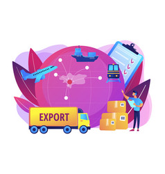 Export control concept vector