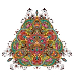 Peacock Mandala vector