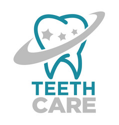 teethcare dentist service dentistry medicine tooth vector image