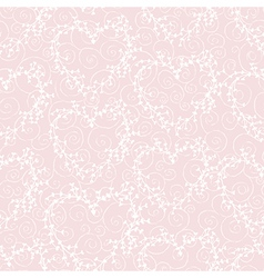 seamless pattern with wreathes and swirles vector image