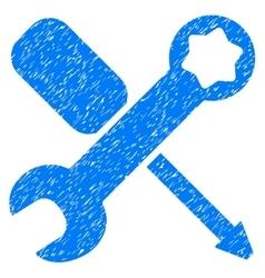 Tools Grainy Texture Icon vector image