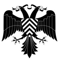 doubleheaded heraldic eagle vector image