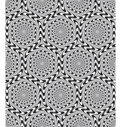 Optical Seamless Pattern Background vector image vector image