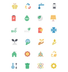 Ecology Icons 2 vector
