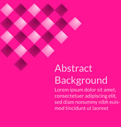 geometric abstract background wallpaper or cover vector image
