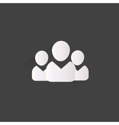 Group people web icon vector