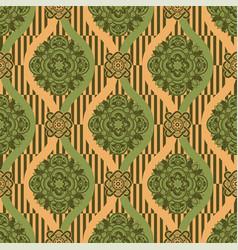 ornamental seamless pattern ethnic vector image
