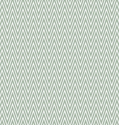 Pastel green zigzag pattern background vector image