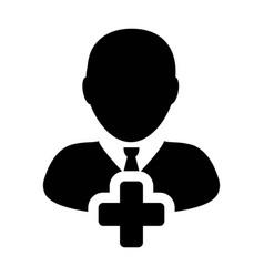 Person icon male add user profile avatar plus vector