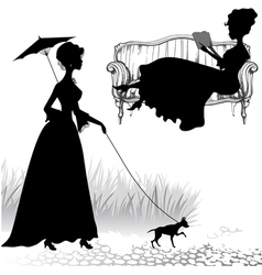 Ladies vector image vector image