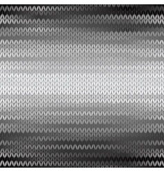 Style Seamless Knitted Melange Pattern vector image