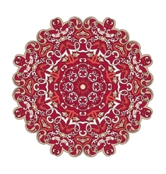 Colorfull mandala pattern vector image