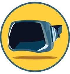 Virtual reality glasses vector image vector image