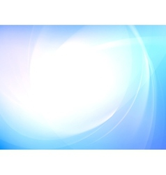 Abstract smooth light curves EPS 10 vector image vector image