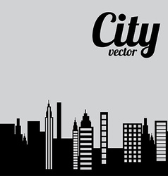city design vector image