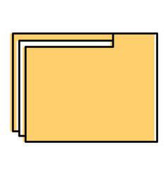 file folder documents icon vector image