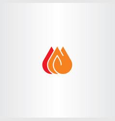fire icon clip art vector image