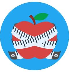 fruit diet vector image