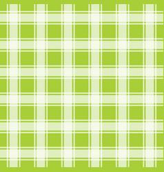 lemon green seamless pattern gingham background vector image