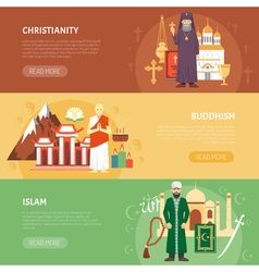 Religion Confession Banner vector image