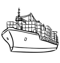 Ship 2 vector
