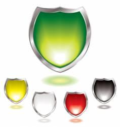 gel shield vector image vector image