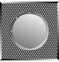 steel background vector image vector image