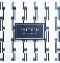 Abstract geometric lines pattern background design vector