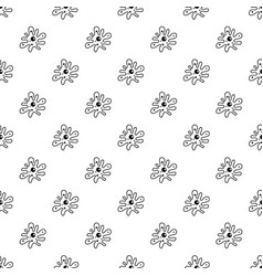 Amoeba pattern vector