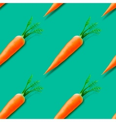 Carrot seamless pattern vector