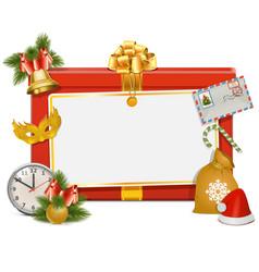 Christmas Celebration Board vector