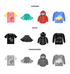 design of fashion and garment icon vector image