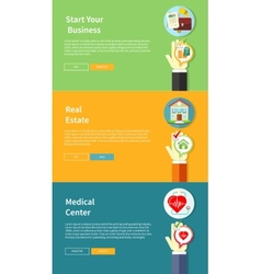 House business medical health insurance vector image