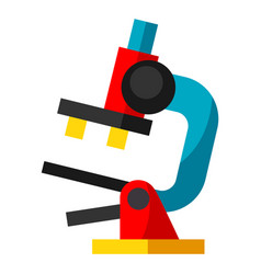 microscope object for medicine vector image