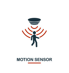 motion sensor icon from sensors icons collection vector image